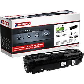 Toner edding compatibel voor HP 410X, CF410X, zwart, 6500 pagina's.