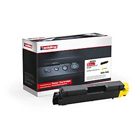 Toner Edding für Kyocera TK-580Y yellow