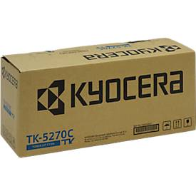 Toner Kyocera TK-5270C, cyan, 6000 Seiten