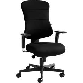 Topstar Bürostuhl ART COMFORT, ohne Armlehnen, mit Federkernkissen, Rückenlehne extra weich, schwarz