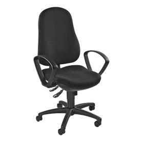 Topstar Bürostuhl SUPPORT 100, Synchronmechanik, ohne Armlehnen, Einsteiger-Modell, schwarz