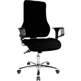 Topstar Bürostuhl TOP POINT Deluxe, schwarz