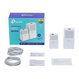 TP-Link AV1000 - Gigabit Powerline ac Wi-Fi Kit - Bridge - 802.11a/b/g/n/ac - an Wandsteckdose anschließbar