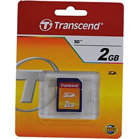 TRANSCEND SDCard 2GB SecureDigital