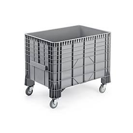 Transport- und Stapelgroßbehälter, fahrbar, 550 l