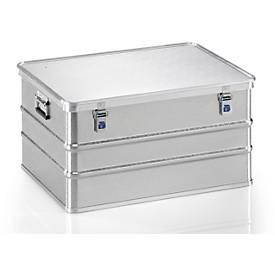 Transportbehälter, Aluminium, verschiedene Größen
