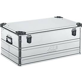 Transportbox Premium, Aluminium, mit Stapelecken, 140 l
