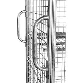 Transportgriffe für Stahlrollbehälter 1200 x 800 mm