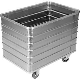 Image of Transportwagen aus Leichtmetall, ohne Deckel, 415 l