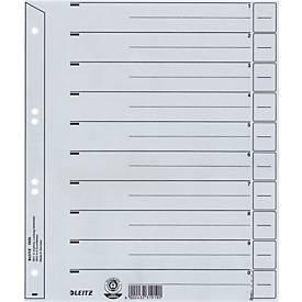 Trennblätter Nr. 1650, DIN A4, grau, 200 g/m², 100 Stück