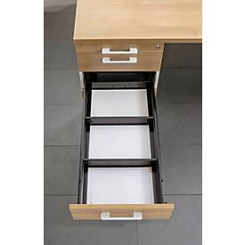 Trennsteg BARI, für Roll-/Anstellcontainer, quer, 2 Stück