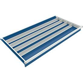 Trennwand mit 4 Längsteiler für Schubladenschrank 1130 mm breit