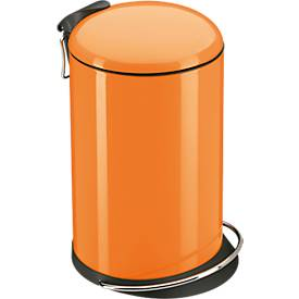 Tretabfalleimer TopDesign 16 Liter, mandarin
