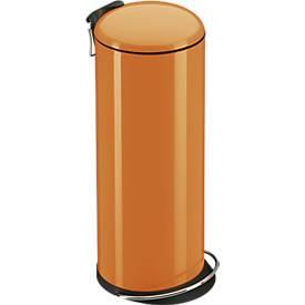 Tretabfalleimer TopDesign 26 Liter, mandarin