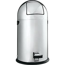 Tretabfallsammler, Edelstahl, 22 Liter