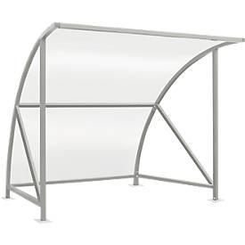Überdachungssystem Modell Bamberg, transparent, B 2040 mm