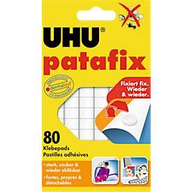 UHU patafix Klebepads, weiß, 80 Stück