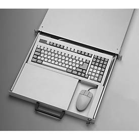 Uittrekbaar toetsenbordlade en muis
