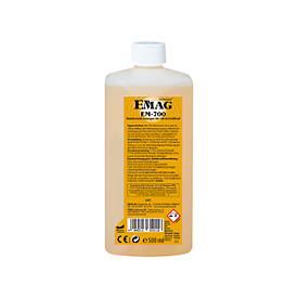 Ultrasoon reinigingsconcentraat EMAG EM-700 voor non-ferrometalen, desoxiderend, 500 ml.