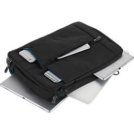 Umhängetasche BAG TO BUSINESS, dunkelgrau/rot, für Laptops/Tablets bis zu 13.3''