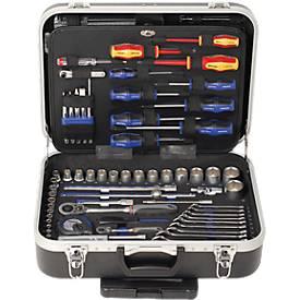 """Universal-Werkzeugtrolley-Set Projahn proficraft, Einsätze 1/4"""" und 1/2"""", 130-tlg."""