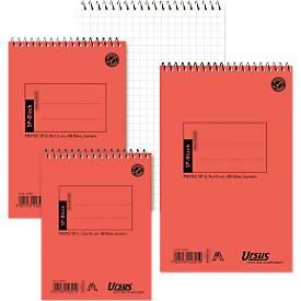 Ursus Collegeblock und Notizzettel, 4 mm kariert, 48 Blatt/Block