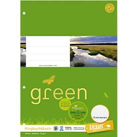 Ursus Ringbuchblock Green