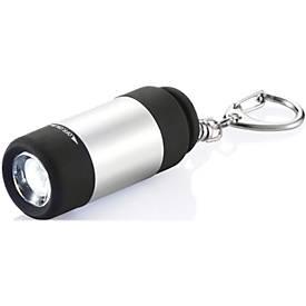 USB-Taschenlampe mit Schlüsselanhänger, mit 1 LED