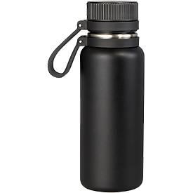 Vakuum-Flasche, Edelstahl, Strukturlack-Beschichtung, 500 ml, Ø 73 x H 213 mm, WAB B30xT50 mm