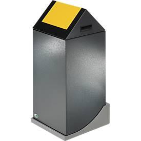 VAR Muurbeugel, voor recyclebare afvalverzamelaars met een voetafdruk van 320 x 320 mm, 1-voudig