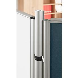Variable Winkelverkettung Schallschutz System 40, für Stellwandhöhen 1200 mm