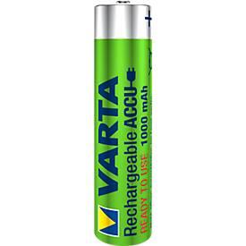 VARTA piles rechargeables, types AA et AAA