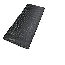 Veiligheidsdeckplate, zwart, lopende meter x B 600 mm