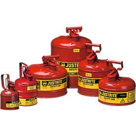 Veiligheidskan Premium Line, staal, 4,0 liter, Ø 241 x 279 mm