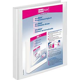 VELOFLEX Präsentationsringbuch VELODUR, A4, 20 mm, Karton PP