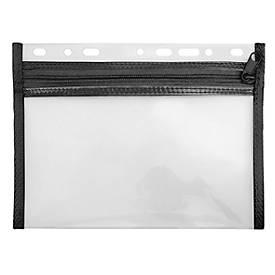 Veloflex Reißverschlusstasche Velobag, mit Reißverschluss, mit Euro-Lochung