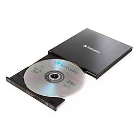 Verbatim Blu-ray Brenner Slimline, extern, USB 3.0, Stromversorgung über USB