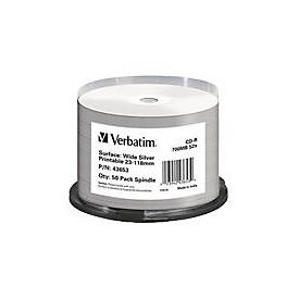 Verbatim - CD-R x 50 - 700 MB - Speichermedium