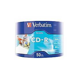 Verbatim DataLife - CD-R x 50 - 700 MB - Speichermedium