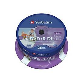 Verbatim - DVD+R DL x 25 - 8.5 GB - Speichermedium
