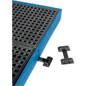 Verbindungselement für Kunststoff-Flachwannen