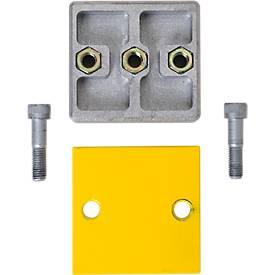 Verlängerungsset, für Rammschutz Planken, gelb