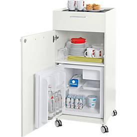 Verpflegungs-Trolley Sesam mit Kühlschrank
