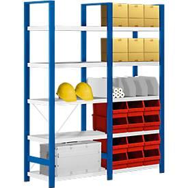 Verschiebbarer Fachteiler, für Stahlregal Status, für T 300 mm