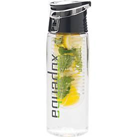 Verschließbare Aromaflasche, 0,7 Liter, aus Tritan, Deckel aus ABS-Kunststoff