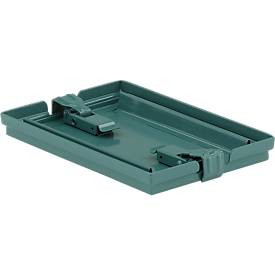 Verschlussdeckel für Stapelkasten 14/6-3, Stahl