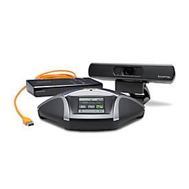 Videokonferenzen Set Konftel C2055, für bis zu 12 Teilnehmer, 4K UHD Webcam, USB-Hub & kabelgeb. Freisprechgerät