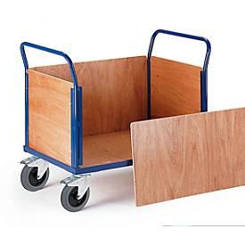 Vierwandige trolley, 1000 x 570 mm, 1000 x 570 mm