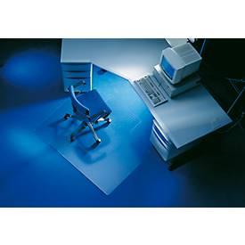 Vloerbesch.mat, hoekig met uitsparing, 120 x 130 cm