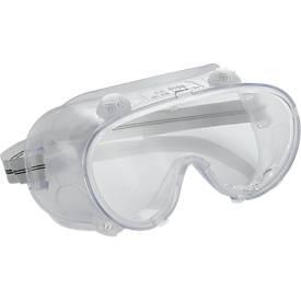 Vollsichtschutzbrille nach EN 166